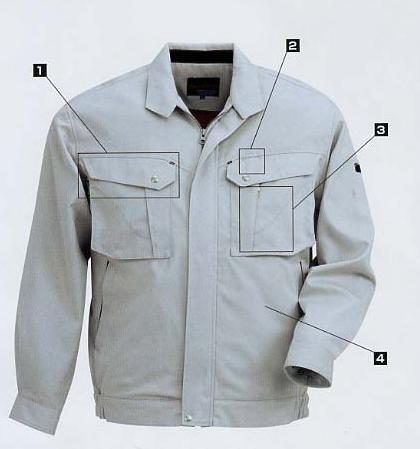 Quần áo bảo hộ TH21